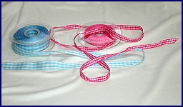 Ribbons/Gingham ribbon